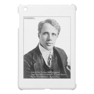 Robert Frost Loveble/Hateable Quote Gifts & Cards iPad Mini Cases