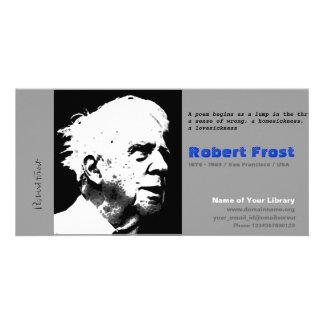 Robert Frost Photo Card Template