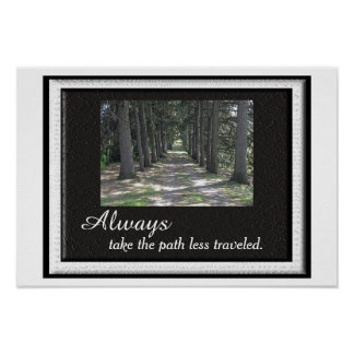 Robert Frost = poster quote