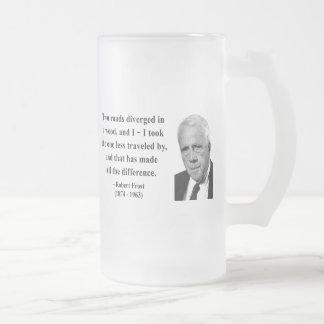 Robert Frost Quote 1b Mug