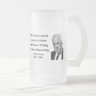 Robert Frost Quote 3b Mugs
