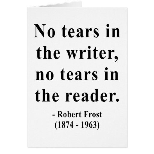 Robert Frost Quote 5a Greeting Card