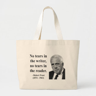 Robert Frost Quote 5b Canvas Bag