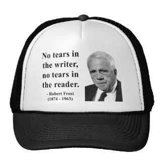Robert Frost Quote 5b Trucker Hats