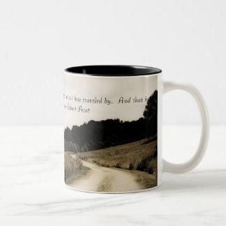 Robert Frost Quote Mug