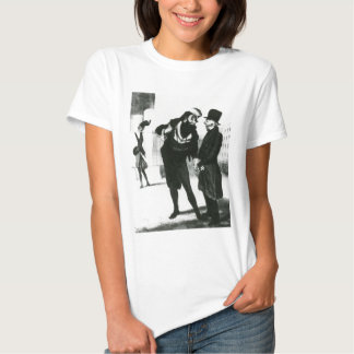Robert Macaire Business Men by Honore Daumier Tee Shirts