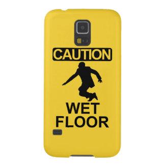 Robert Mugabe wet floor sign Galaxy S5 Cases