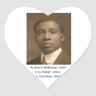 Robert Nathaniel Dett Heart Sticker