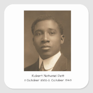 Robert Nathaniel Dett Square Sticker