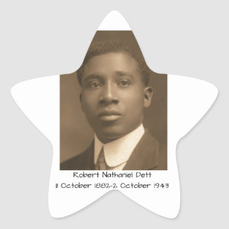 Robert Nathaniel Dett Star Sticker
