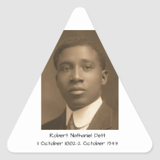 Robert Nathaniel Dett Triangle Sticker