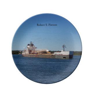 Robert S. Pierson decorative plate