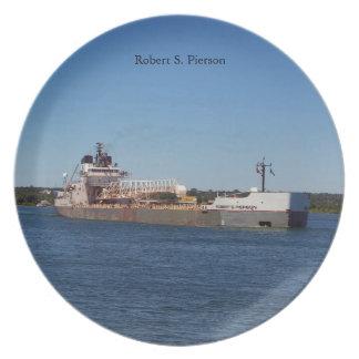 Robert S. Pierson plate