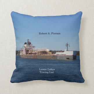 Robert S. Pierson square pillow