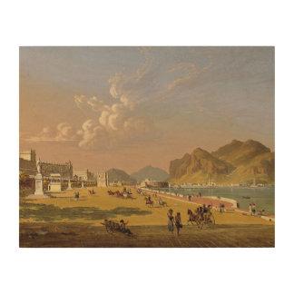 Robert Salmon - View of Palermo Wood Print