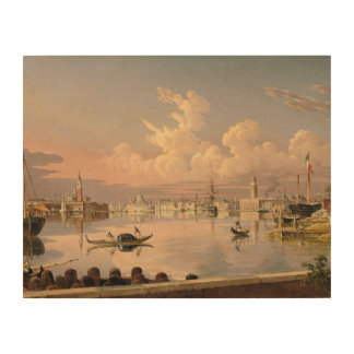 Robert Salmon - View of Venice Wood Canvases