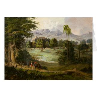 Robert Scott Duncanson - Chapultpec Castle Card