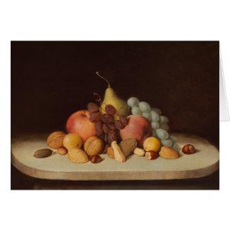 Robert Scott Duncanson - Still Life with Fruit Card