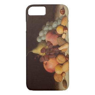 Robert Scott Duncanson - Still Life with Fruit iPhone 7 Case
