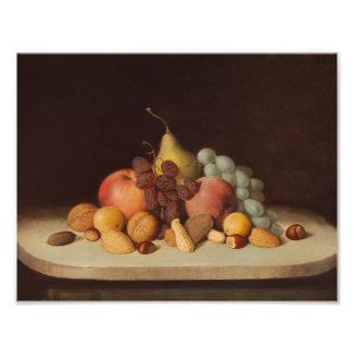Robert Scott Duncanson - Still Life with Fruit Photograph