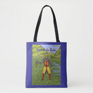 Robert the Bruce Scotland the Brave Tote Bag