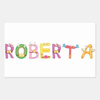 Roberta Sticker