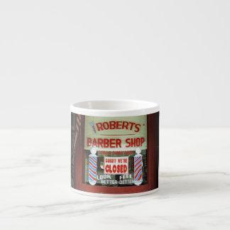 Roberts Barber Shop Espresso Mug