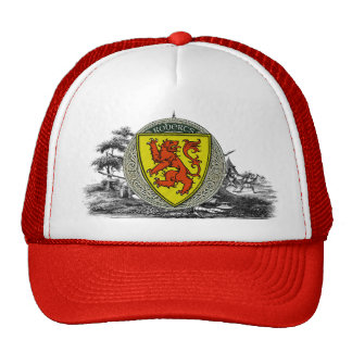 Roberts (Wales) Family Arms Mesh Hats