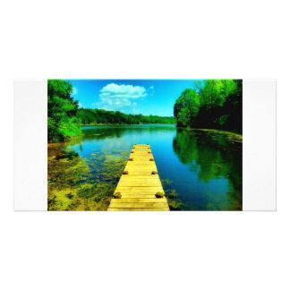 Robertson Lake Virginia Photo Card
