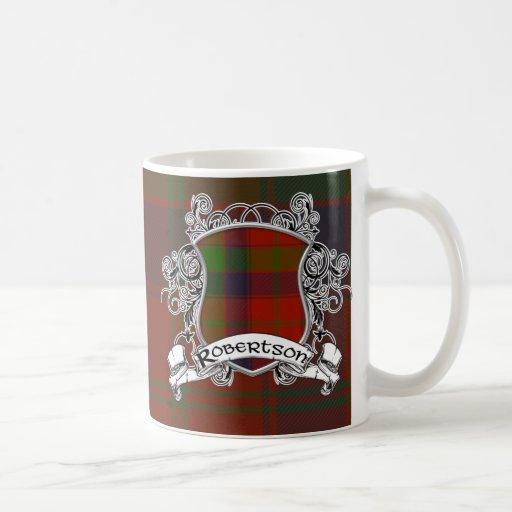 Robertson Tartan Shield Coffee Mug