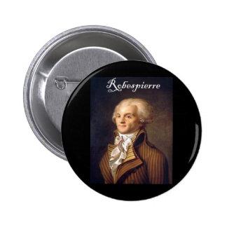 Robespierre 1 with blackadder 6 cm round badge