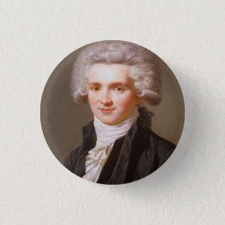 Robespierre 3 Cm Round Badge