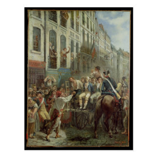 Robespierre  and Saint-Just Postcard