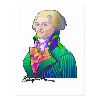 Robespierre Postcard