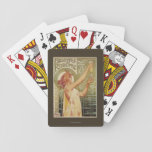Robette Absinthe Advertisement Poster Poker Deck