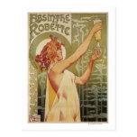 Robette Absinthe Advertisement Poster Post Cards