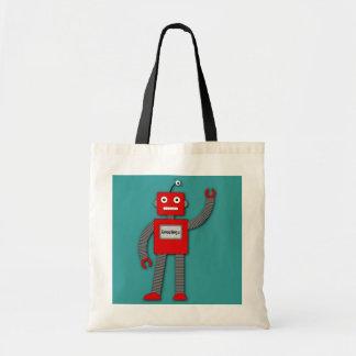 Robi The Retro Robot Bag