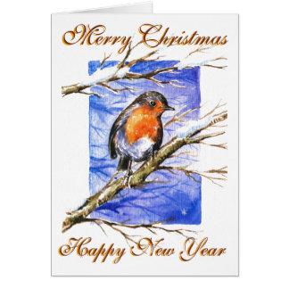 Robin 3 greeting cards