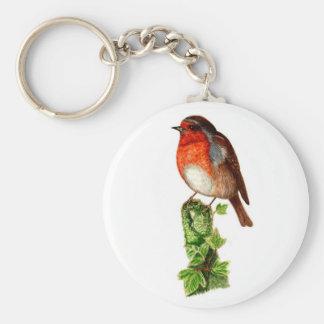 Robin 5.7 cm Basic Button Key Ring