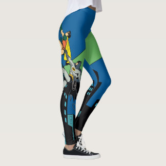 Robin And Batman Climb Leggings