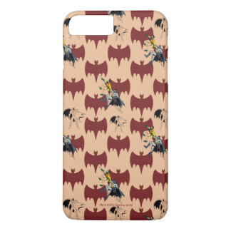 Robin And Batman Climbing Pattern iPhone 8 Plus/7 Plus Case