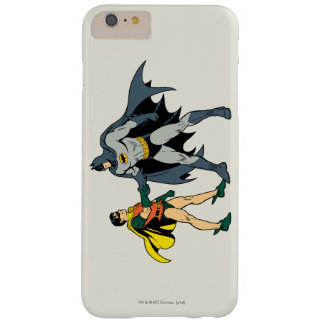 Robin And Batman Handshake Barely There iPhone 6 Plus Case