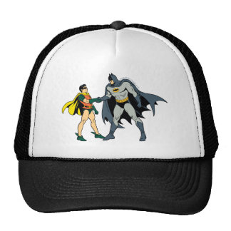 Robin And Batman Handshake Cap