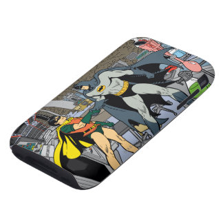Robin And Batman Handshake iPhone 3 Tough Covers