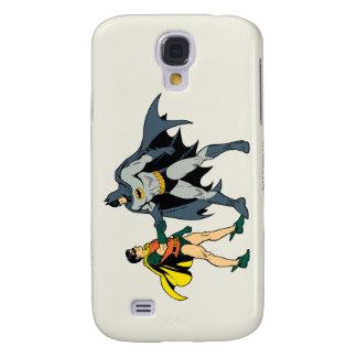 Robin And Batman Handshake Samsung Galaxy S4 Cover