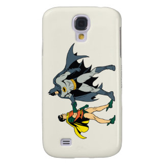 Robin And Batman Handshake Samsung Galaxy S4 Covers