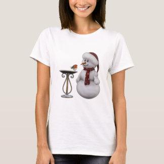 Robin and Snowman T-Shirt