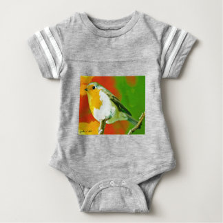 Robin Bird Baby Bodysuit