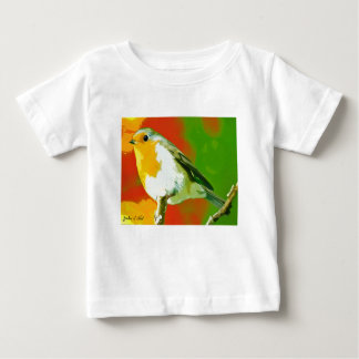 Robin Bird Baby T-Shirt