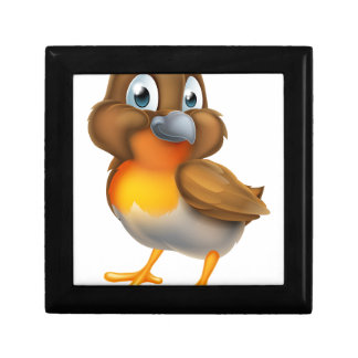 Robin Bird Cartoon Character Gift Box